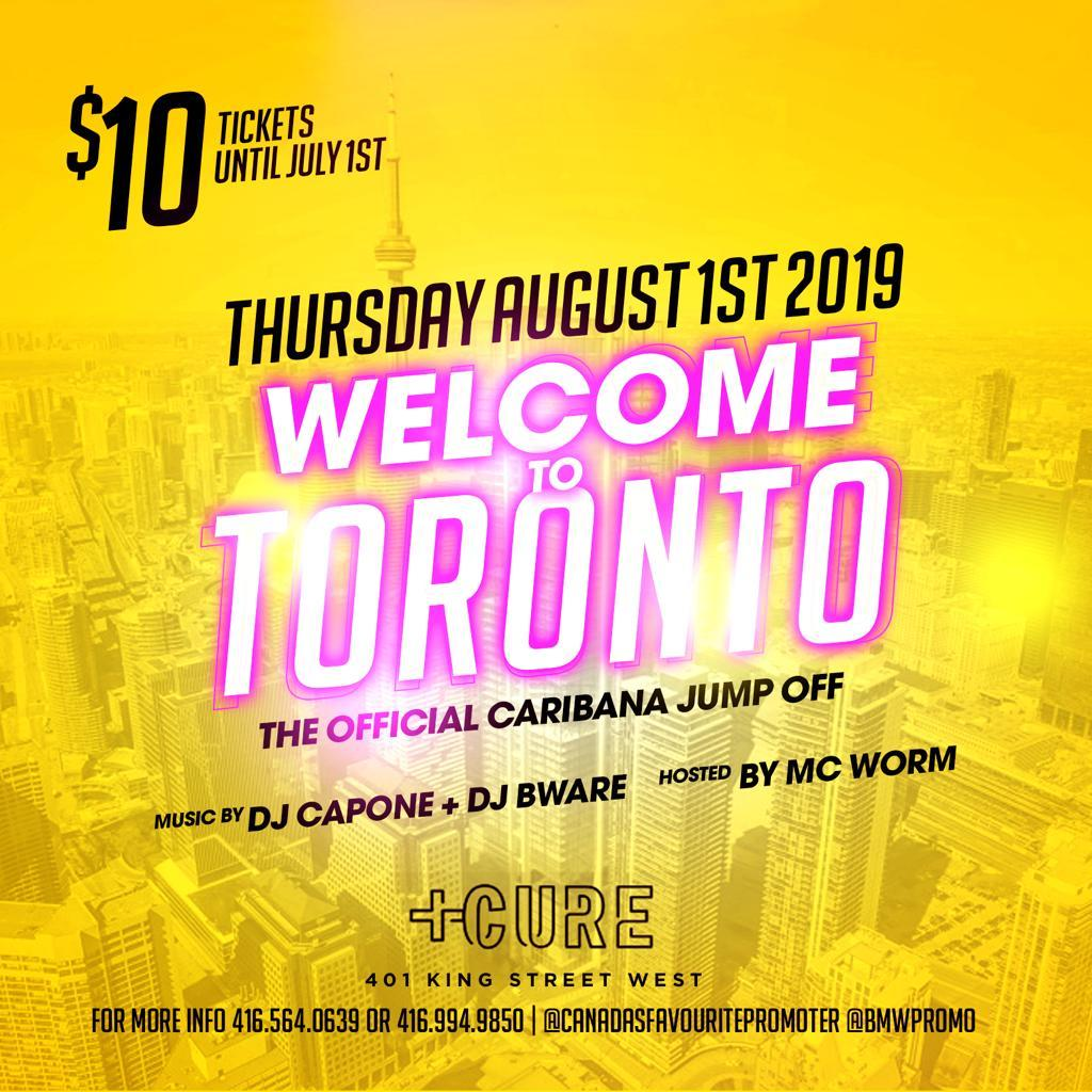 THE OFFICIAL CARIBANA JUMP OFF! WELCOME TO THE SIX!