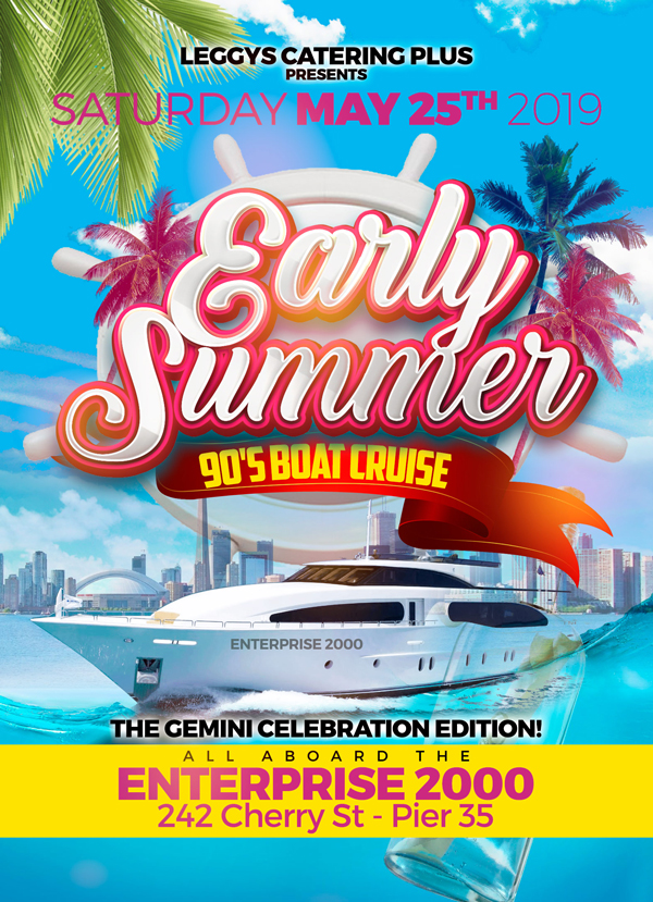 Leggys Catering Plus -- Early Summer -- 90s Boat Cruise