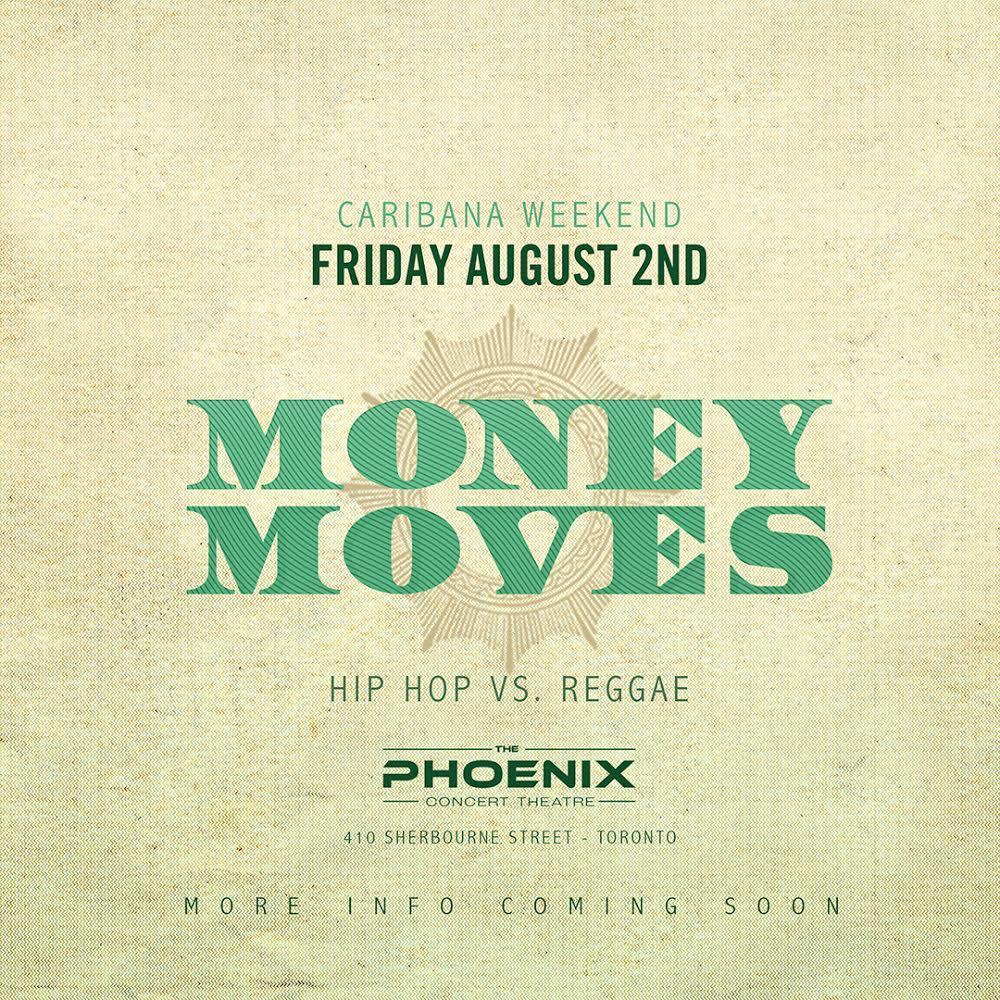 MONEY MOVES CARIBANA FRIDAY HIP HOP VS REGGAE