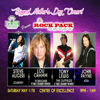 The Rock Pack (Mother's Day Concert)