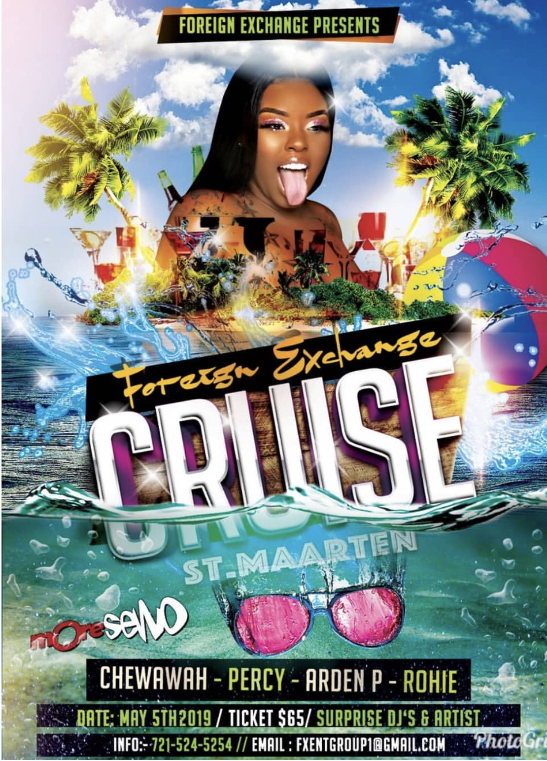 Foreign Exchange All-Inclusive Boat Cruise