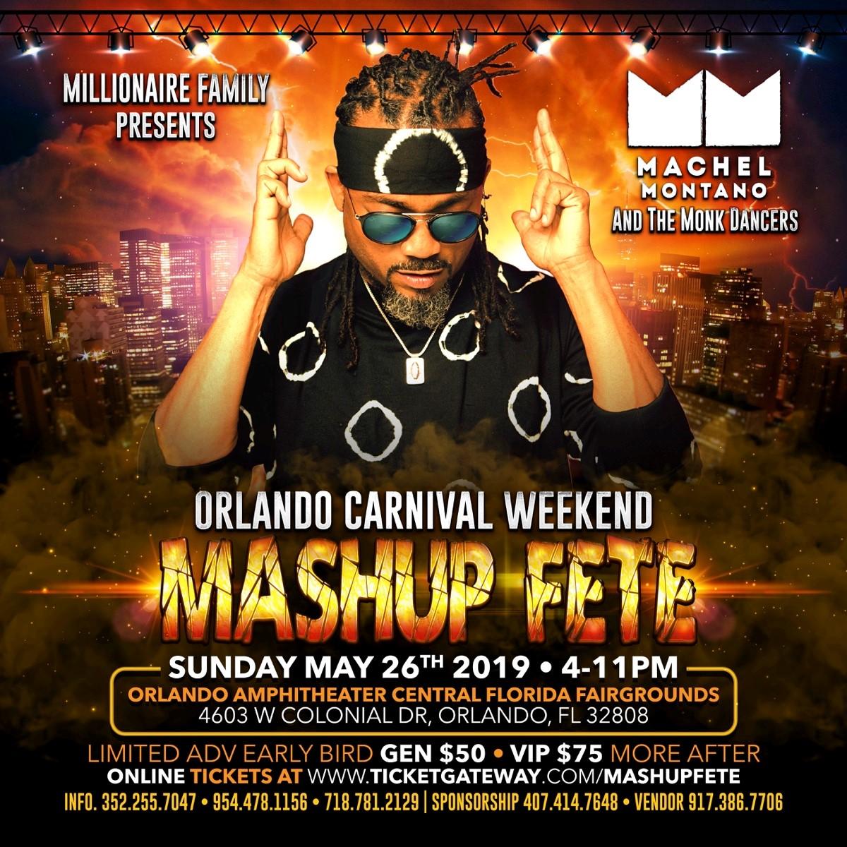 MASH UP FETE - Orlando Carnival Weekend