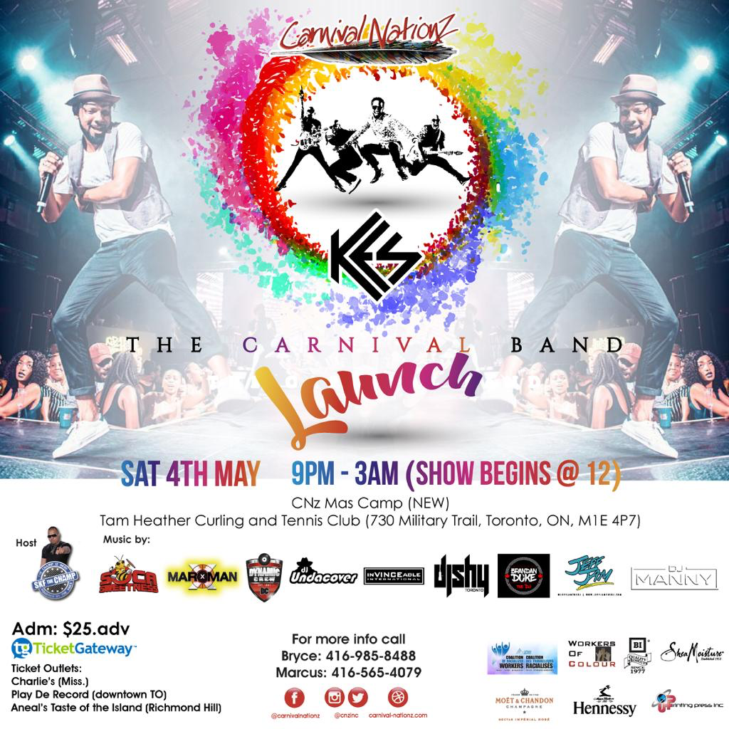 Carnival Nationz Band Launch - 2019