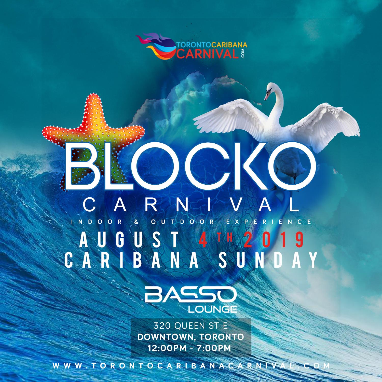 Carnival Blocko   100% Outdoors   Caribana Sunday   Aug 4th