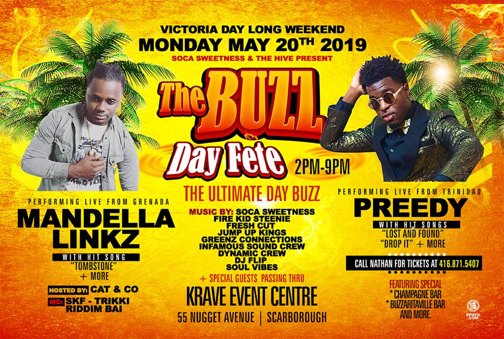 The Buzz By Day  ft Mandella & Preedy