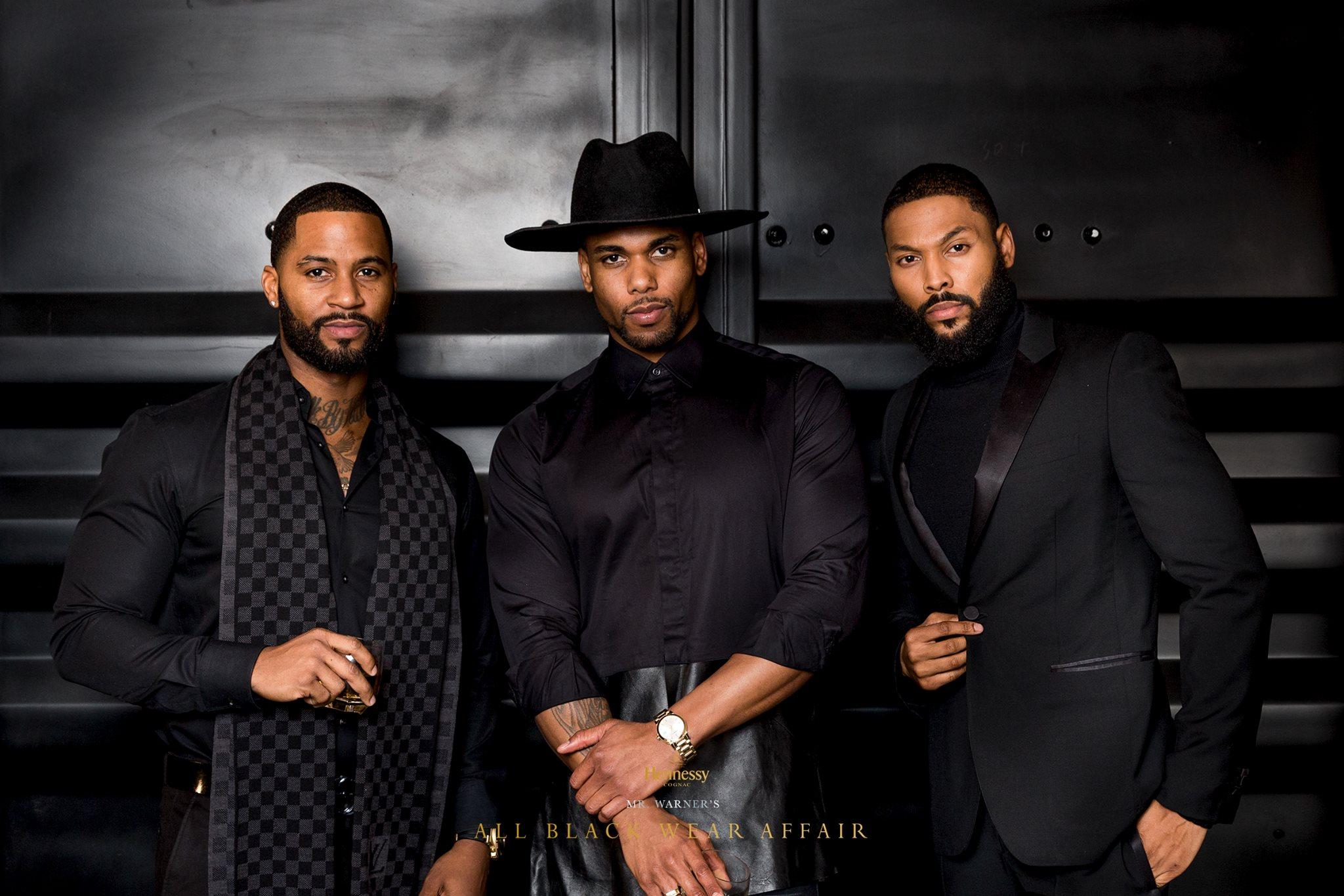 Mr. Warneru0026#39;s All Black Wear Affair