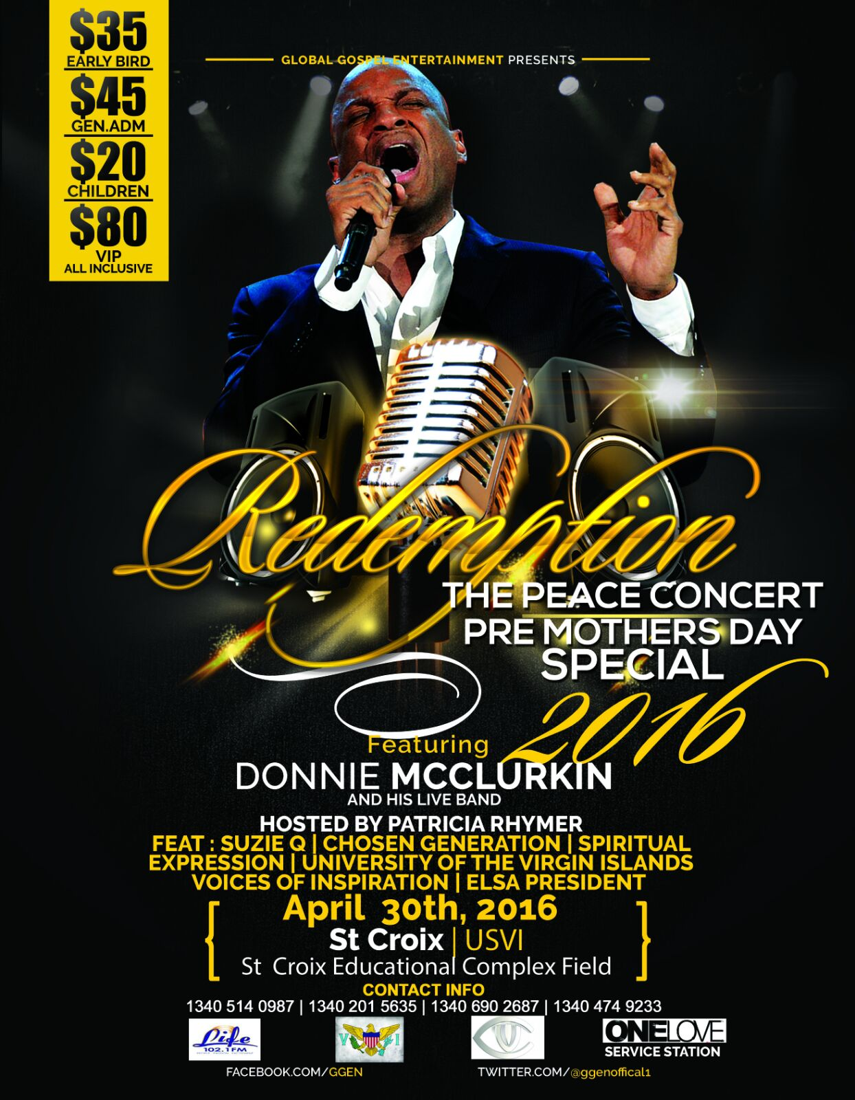 REDEMPTION PEACE CONCERT MOTHER'S DAY SPECIAL