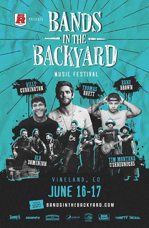 Bands In The Backyard Music Festival 2017 Colorado | Tickets