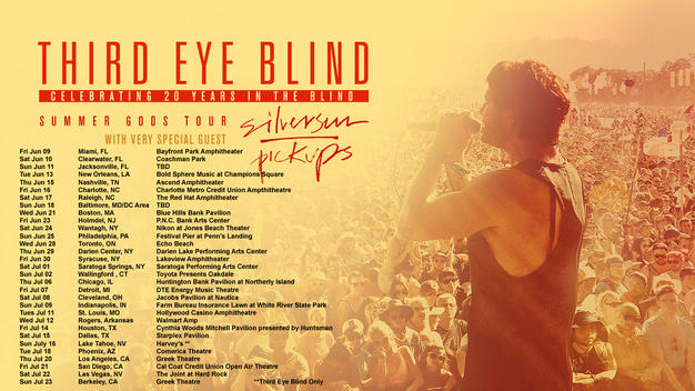 third eye blind concert tour dates Mark g etess arena at hard rock hotel & casino / atlantic city, nj rsvp tickets rsvp tickets 21 jul comstock rock music festival / comstock, ne.