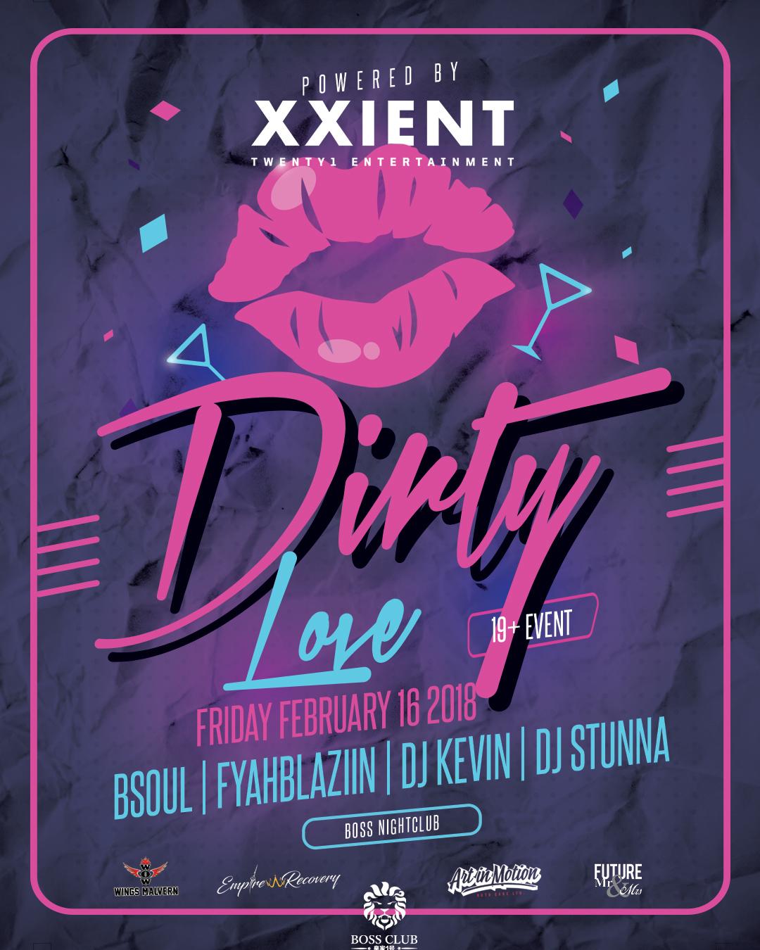 Dirty Love Pictures: Dirty Love @BOSS NightClub Toronto