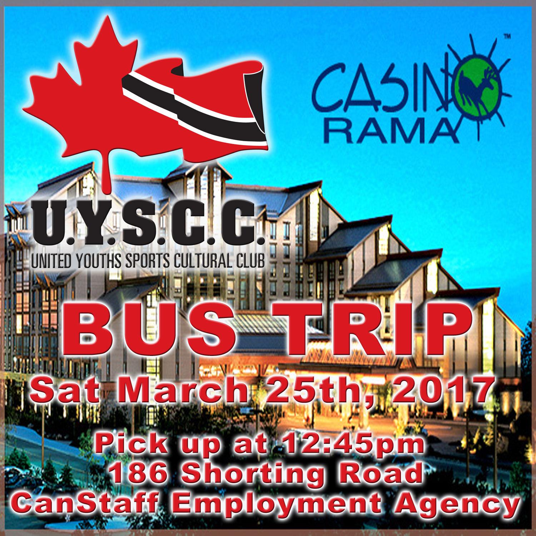 Casino rama buses casino cars