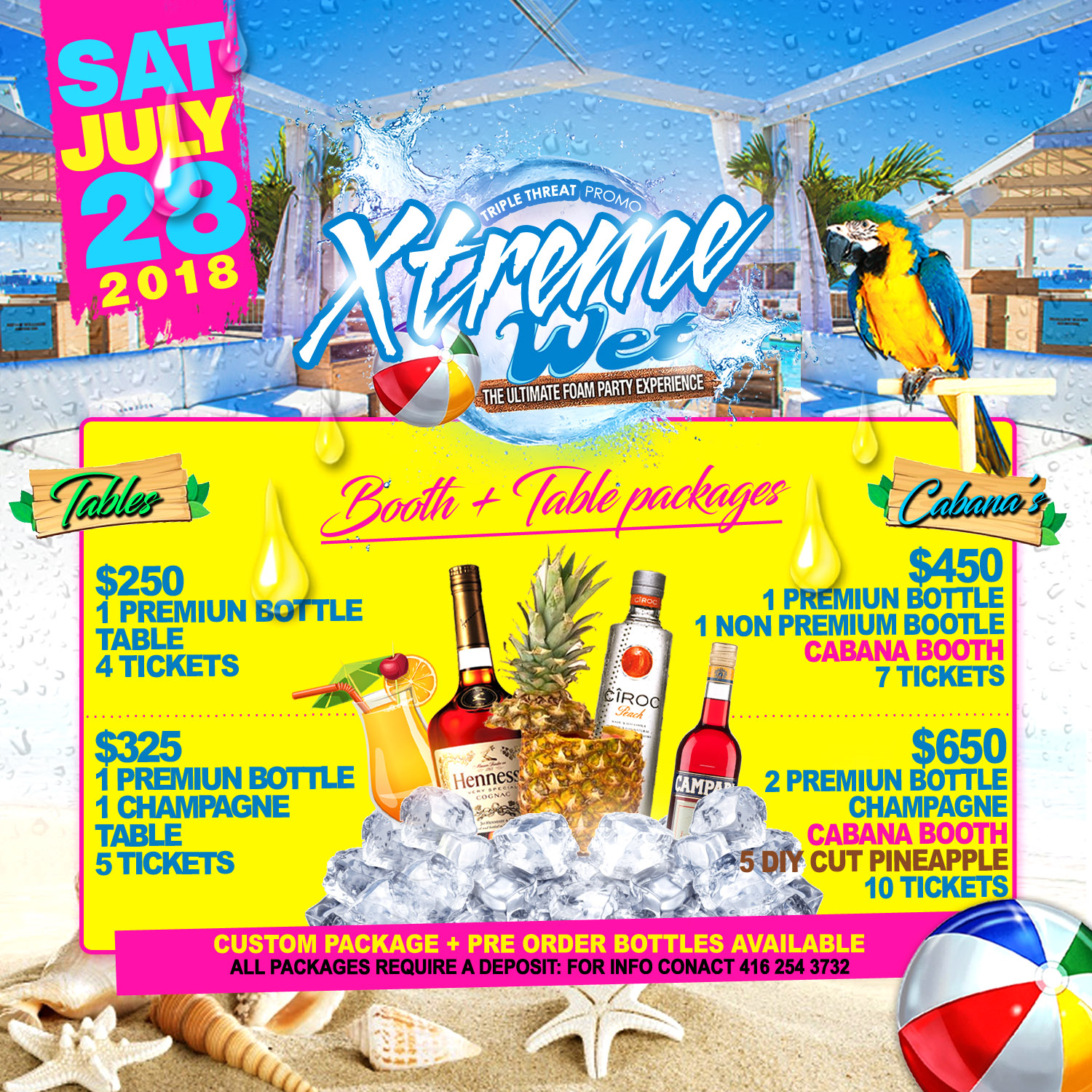 xtreme wet the ultimate foam party experience