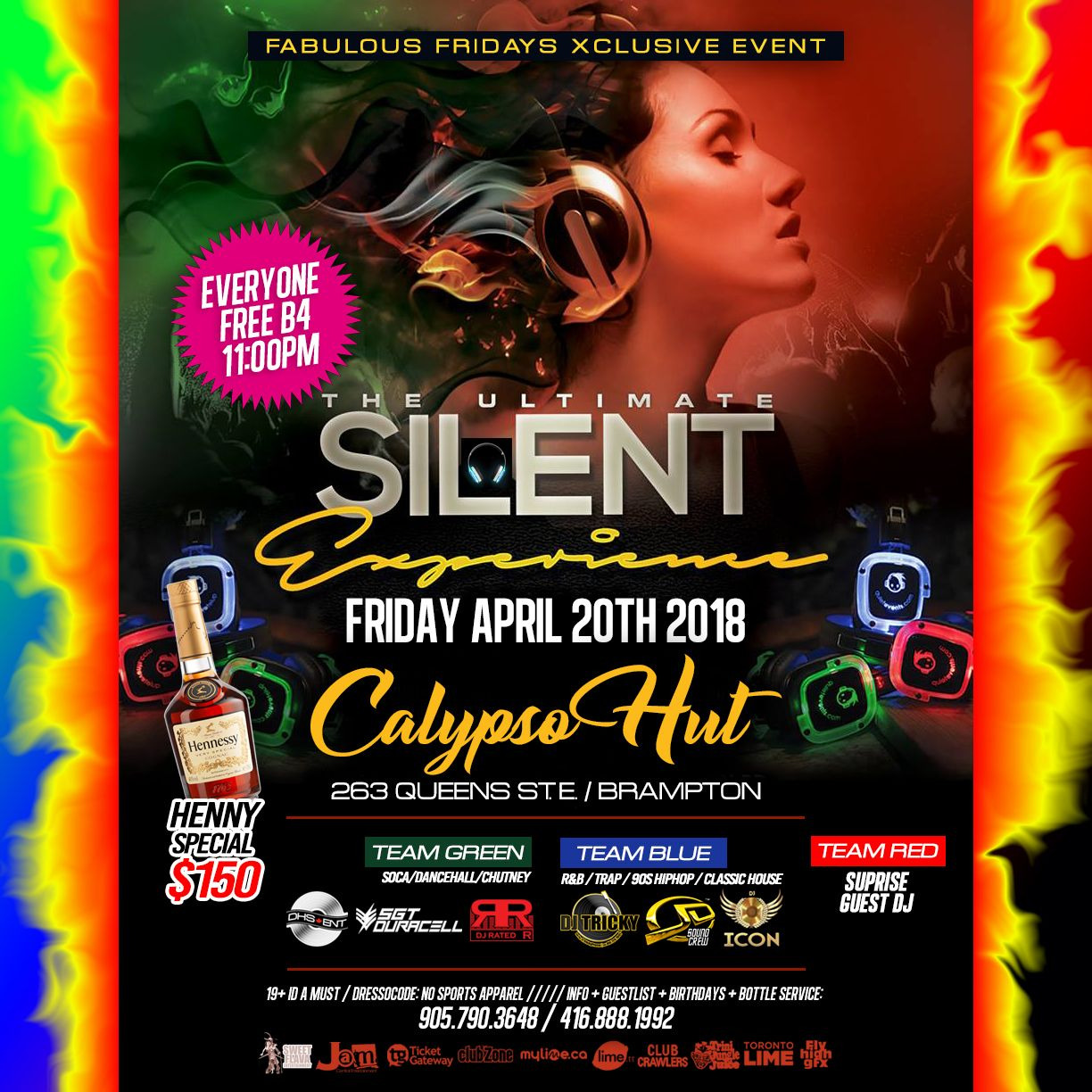 FABULOUS FRIDAYS @ CALYPSO HUT GETS EVEN BIGGER