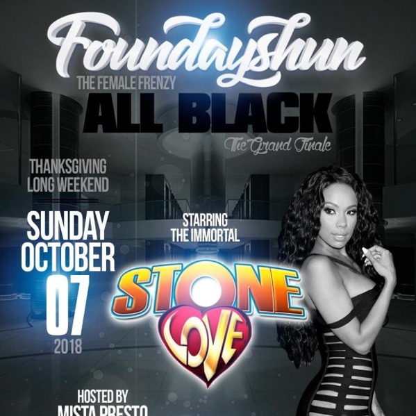 Foundayshun \ The Female Frenzy All Black \ The Grand Final