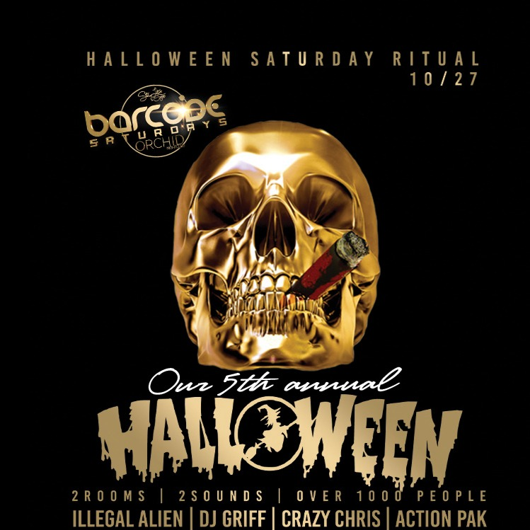 Barcode Saturdays 5th Annual Halloween Party