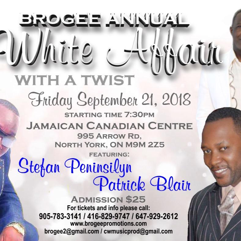 BROGEE ANNUAL  ALL WHITE AFFAIR