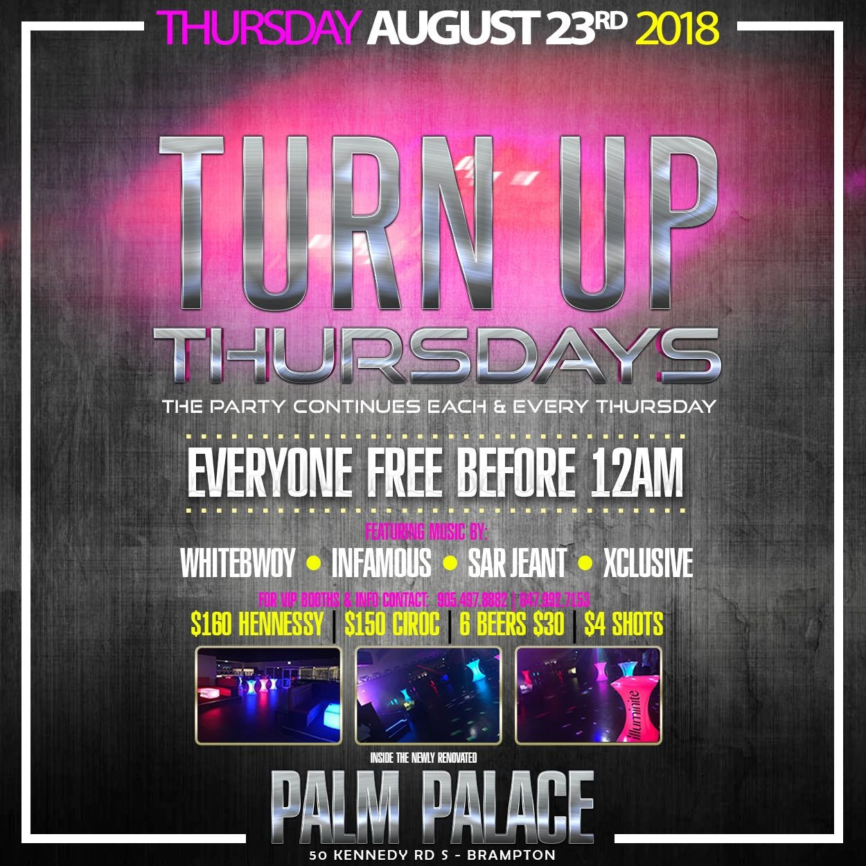 Turn Up Thursdays - Party Continues