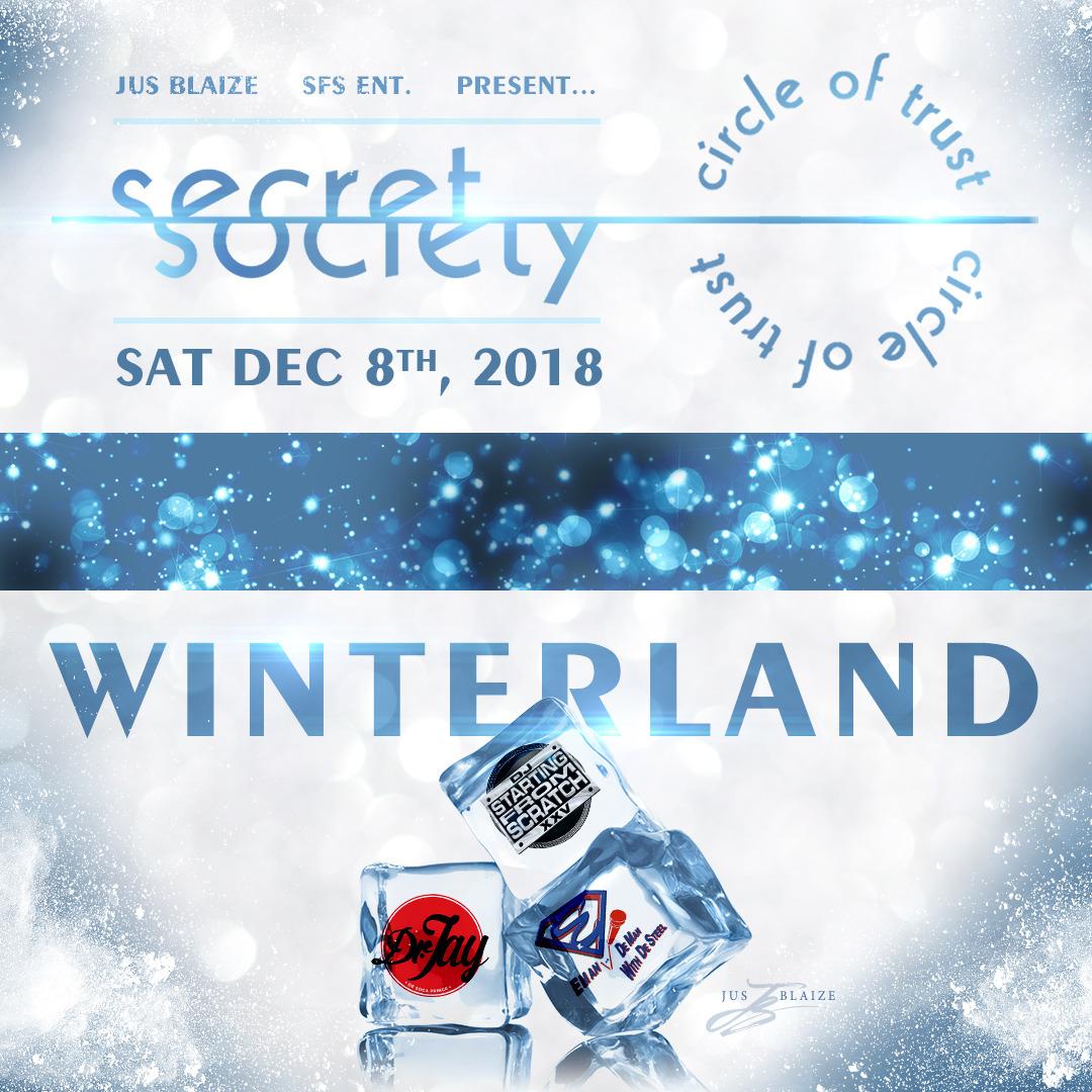 SECRET SOCIETY - Winterland