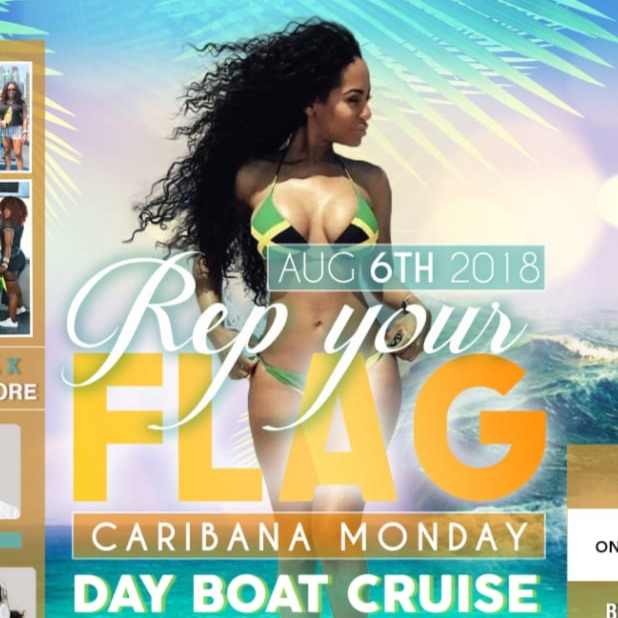 REP YOUR FLAG BOAT RIDE CARIBANA MONDAY 2018