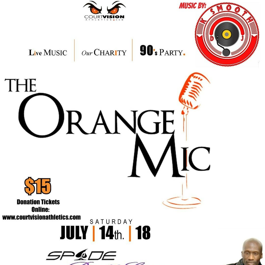 The Orange Mic ::: Live Music & 90's PARTY! Charity Event for COURTVISION