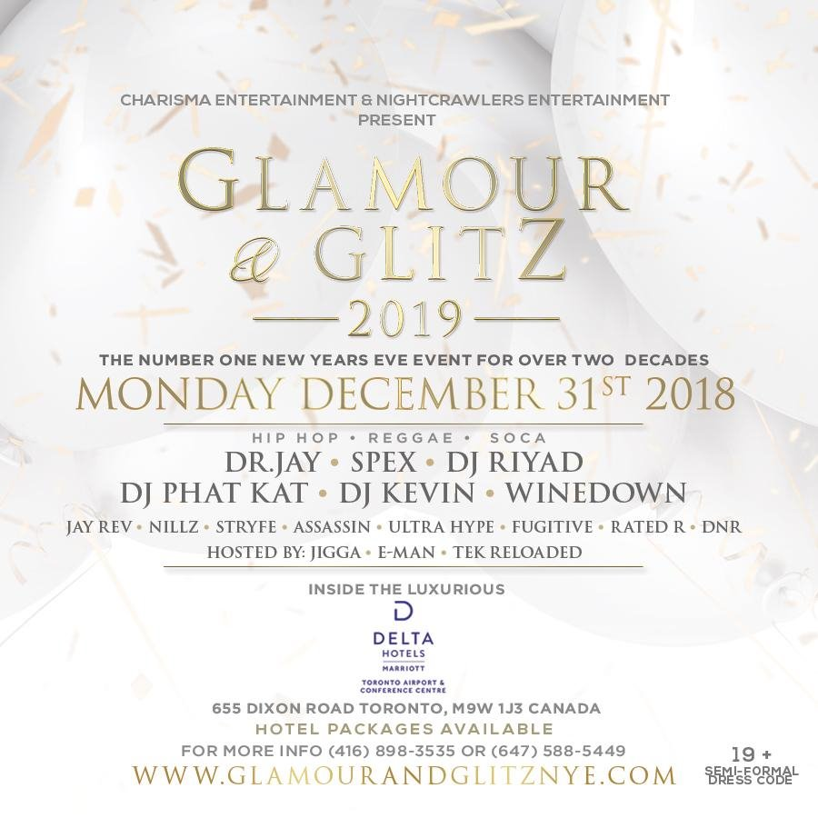 Glamour & Glitz 2019 - The Number One New Year's Gala