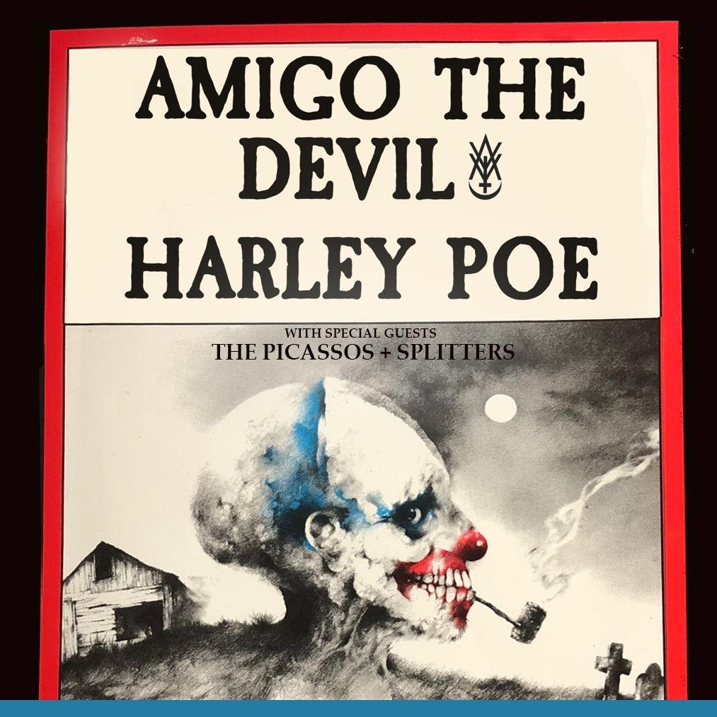 Amigo the Devil,Harley Poe, Goya & Blood Feud Family Singers