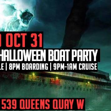 THE HAUNTED SHIP HALLOWEEN BOAT 2018 | WEDNESDAY OCT 31 @ JUBILEE QUEEN