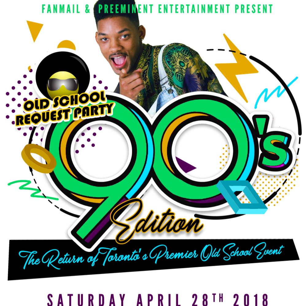 The OLD SCHOOL REQUEST PARTY Reunion - 90s Edition
