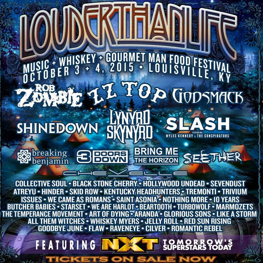 Louder Than Life Tickets 2018   2018 Concert At Champions Park  3 Day Pass