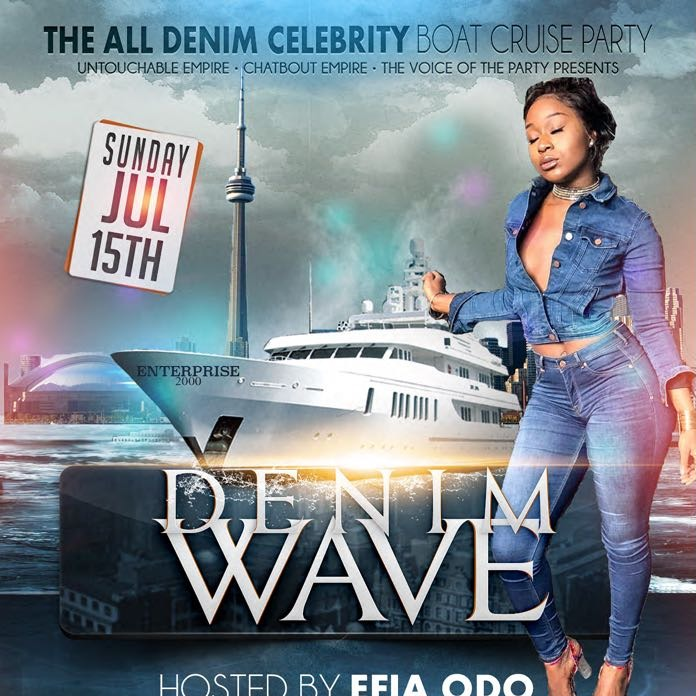 THE ALL DENIM CELEBRITY BOAT CRUISE PARTY