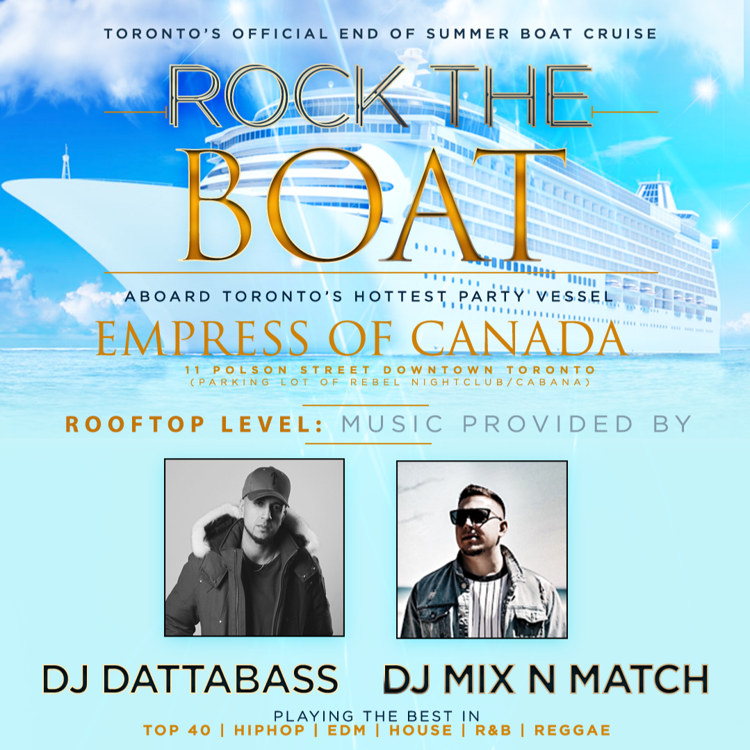 ROCK THE BOAT: ROOFTOP PARTY