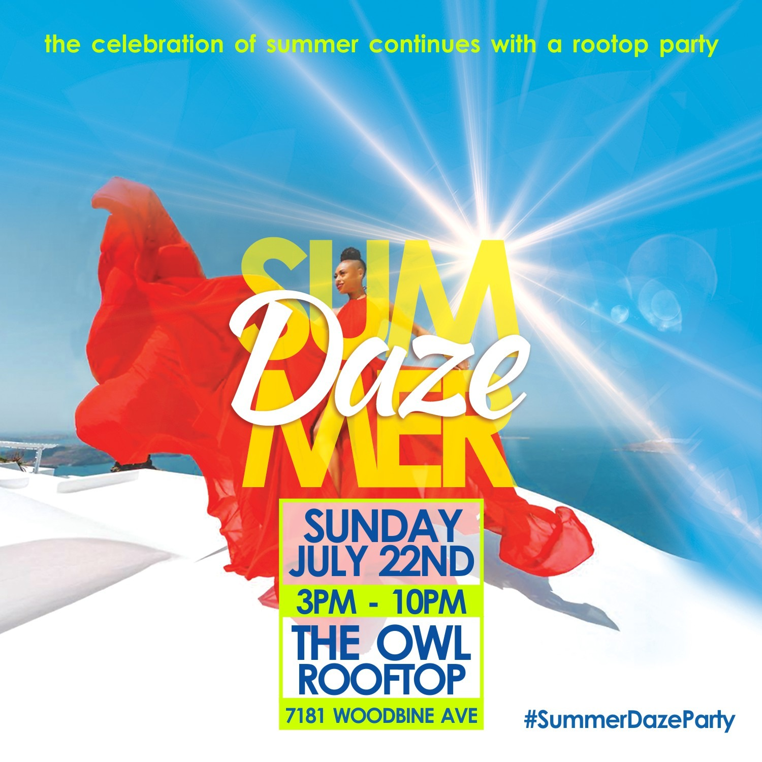 SUMMER DAZE - ROOFTOP PATIO PARTY