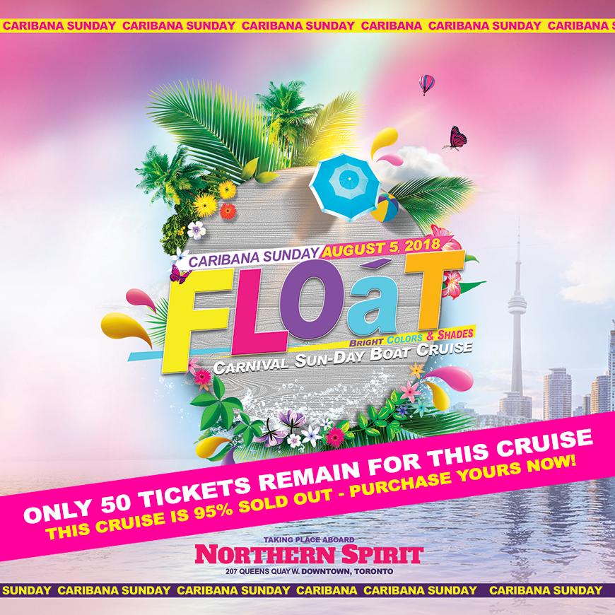 Float Boat Cruise - Caribana Sunday August 5th, 2018