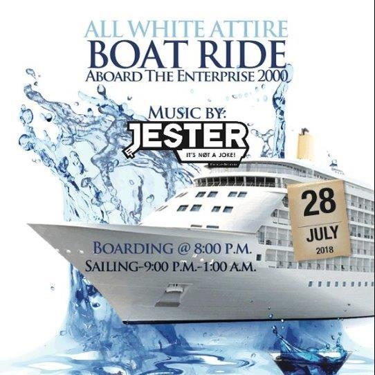 SKNAT Annual Boat Ride - ALL WHITE