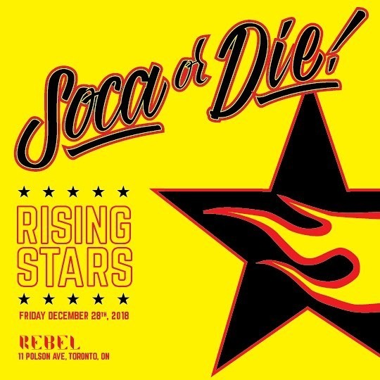 SOCA OR DIE - RISING STARS