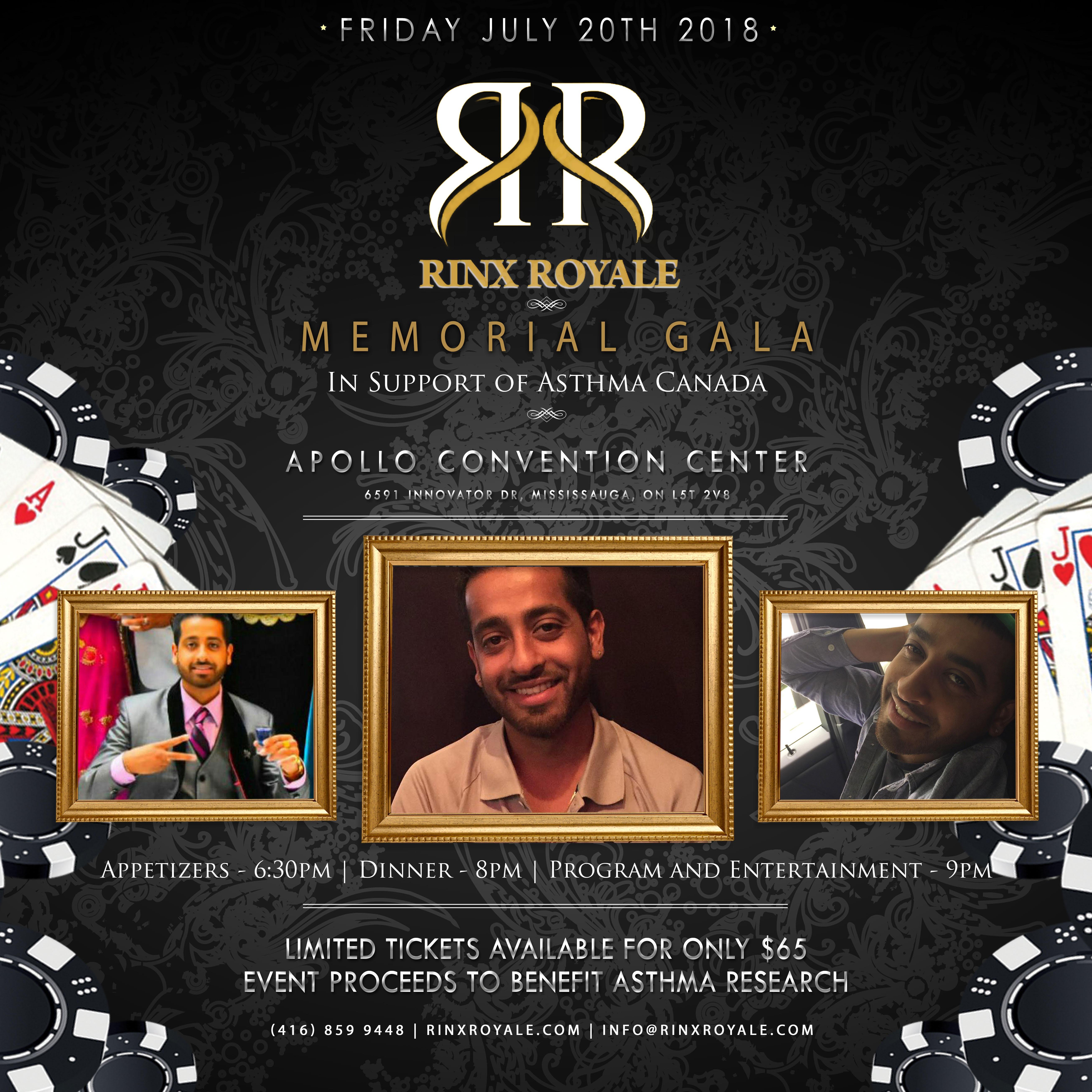 Rinx Royale Memorial Gala