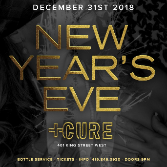 NYE 2019 INSIDE CURE NIGHTCLUB