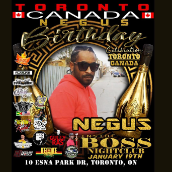 NEGUS BIRTHDAY CELEBRATION