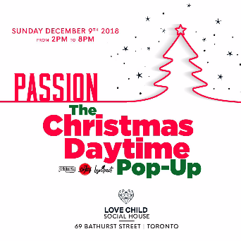 Passion - A Christmas Daytime Pop Up