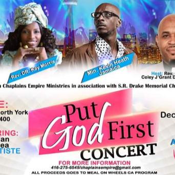 Put God First Concert