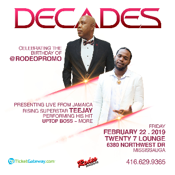 DECADES -- Celebrating The Birthday of RODEO PROMO