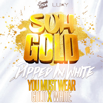 SUH GOLD | 'Dipped In White' Long Weekend Sunday Inside Luxy
