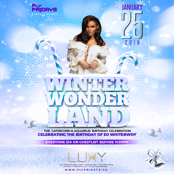 FlyFridays -- Winter Wonderland