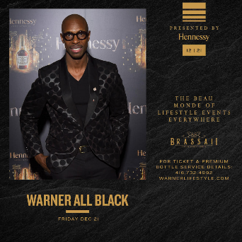 Mr. Warner's All Black Wear Affair 2018