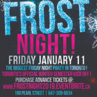 FROST NIGHT 2019 @ FICTION NIGHTCLUB | FRIDAY JAN 11TH
