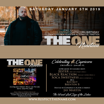 THE ONE | NINETEEN  - The Annual Capricorn Celebration