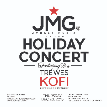 JUNGLE MUSIC GROUP HOLIDAY CONCERT ft. TREWES & KOFI
