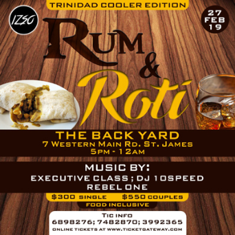 RUM AND ROTI