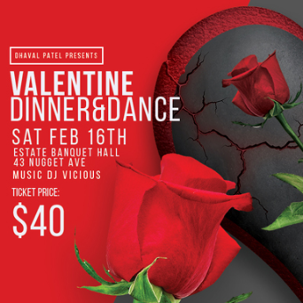 Dhaval Patel - Valentine Dinner and Dance