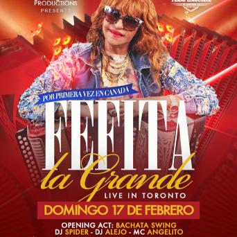 AR Productions - Fefita La Grande Live In Toronto